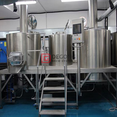 2000L Malt Drink Full Grain Beer Brewing System Commercial Used Beer Brewery à vendre